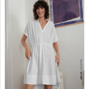 ZARA NEW RUCHED DRESS